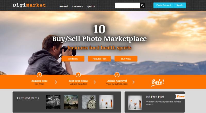 shutterstock photo marketplace clone script free download